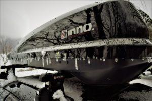 氷点下雪中キャンプ
