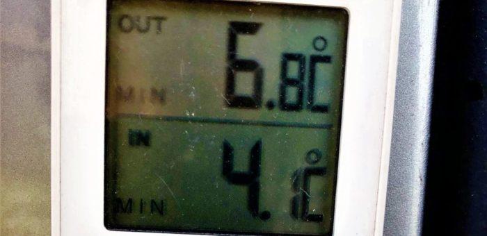 赤城山の気温