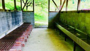 創造の森キャンプ場炊事場