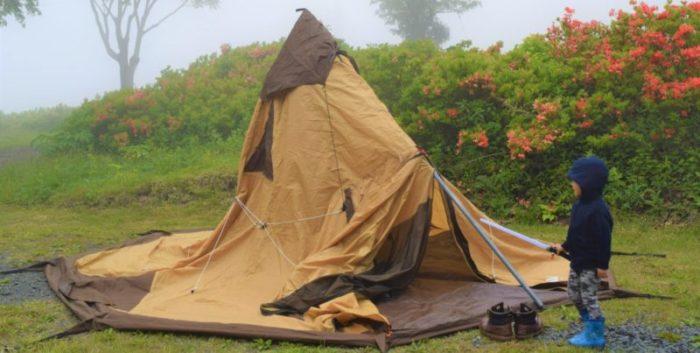 キャンプでの失敗あるある:テントの設営が大変