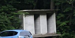 川場谷野営場トイレ