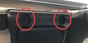 ラングラーグラブバー・ハンドルの取り付け。後ろの取り付け箇所。