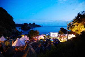 無人島キャンプ