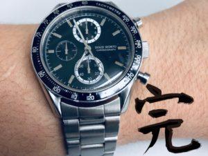 腕時計電池交換完了