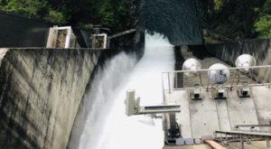相俣ダムの水