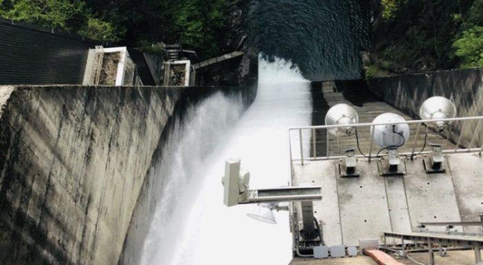 相俣ダムからの景色