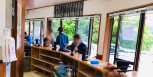永井食堂の空席