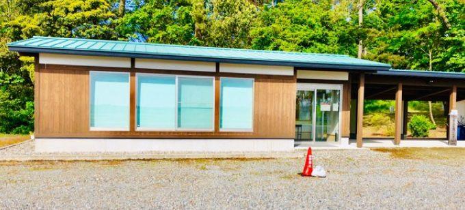 園家山キャンプ場の交流施設