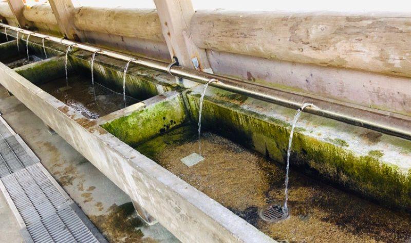 園家山キャンプ場の水道設備