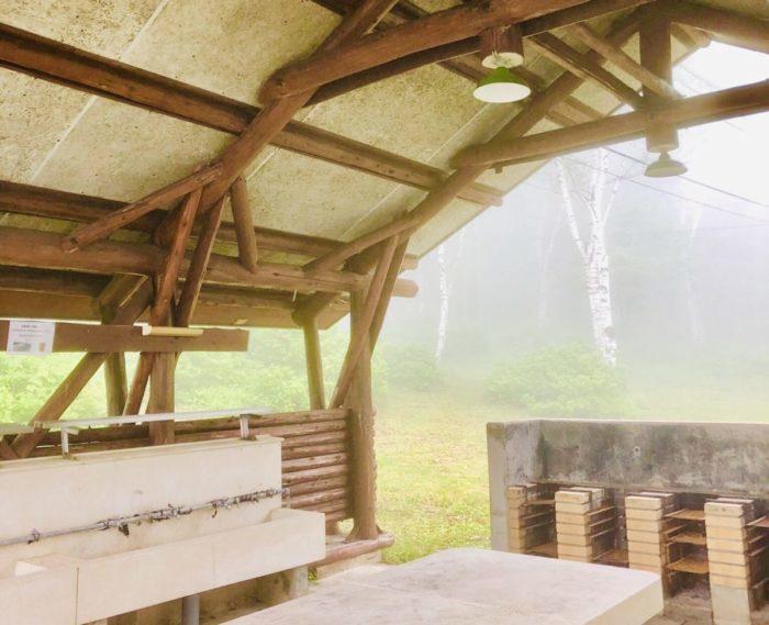 ほたか牧場キャンプ場の炊事場