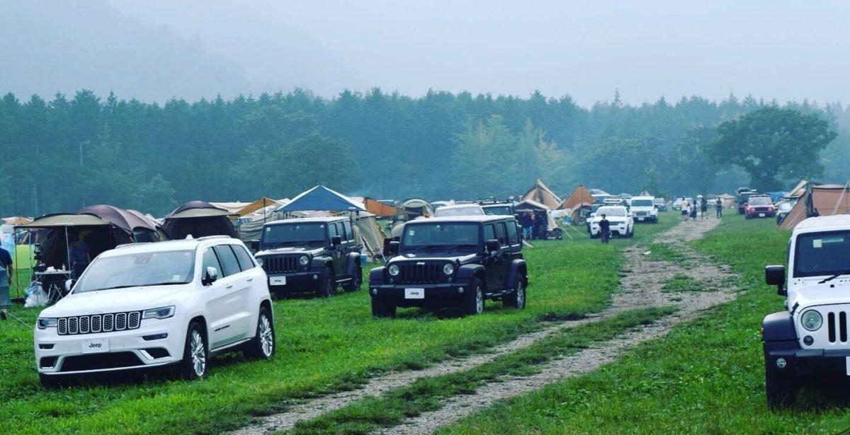 Jeepがたくさん