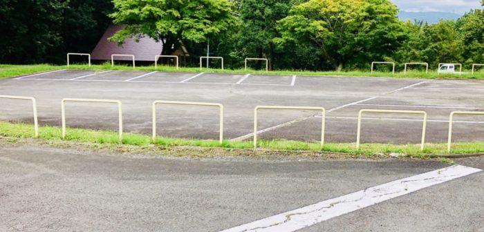 みどりの村キャンプ場の駐車場