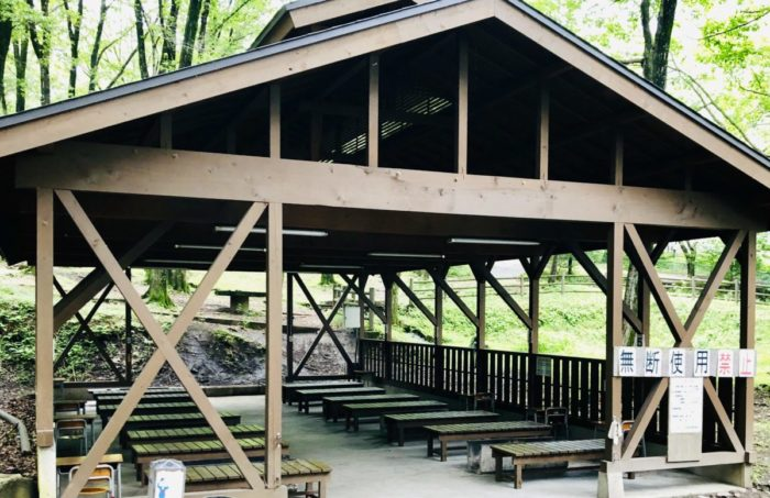 みどりの村キャンプ場の外観