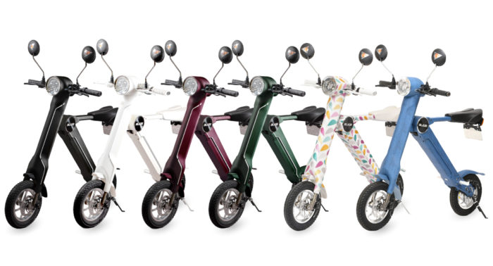 折りたたみ電動バイクのデザインはオシャレ