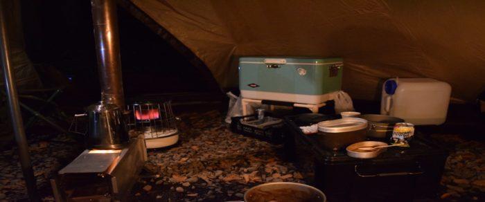 冬キャンプに必要なアイテム
