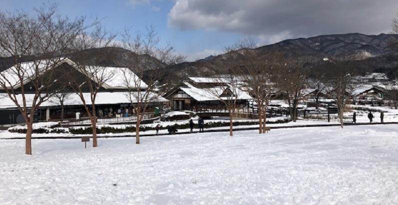 冬の田園プラザ