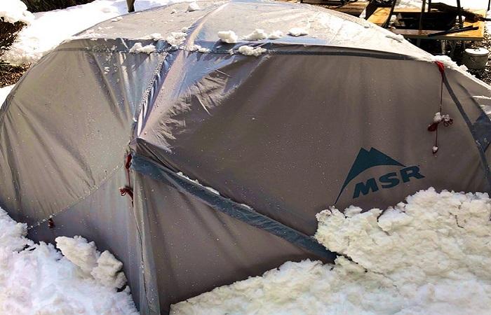 テント「MSRエリクサー2」