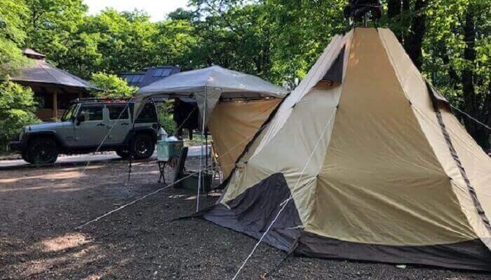 キャンプで食中毒