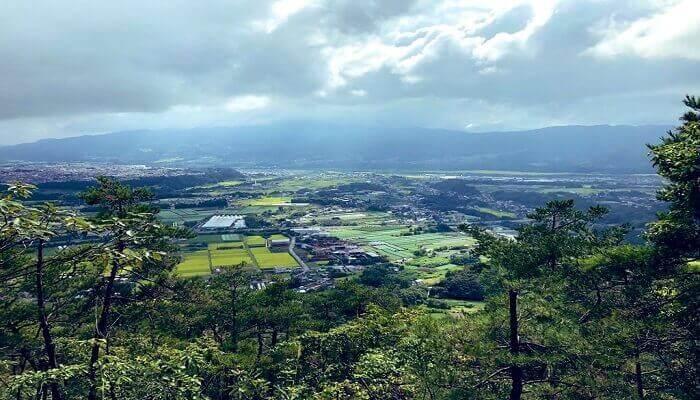 戸神山からの景色